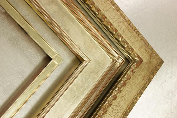 Closed Corner Frames, Silver Frames, Multi-toned Frames, Hand Finished Frames