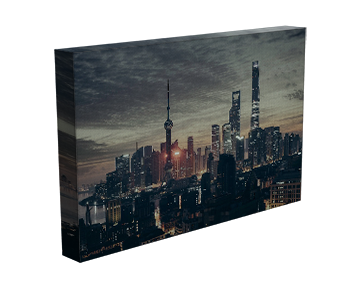 New York City Skyline, Stretching on Canvas, Print on Canvas