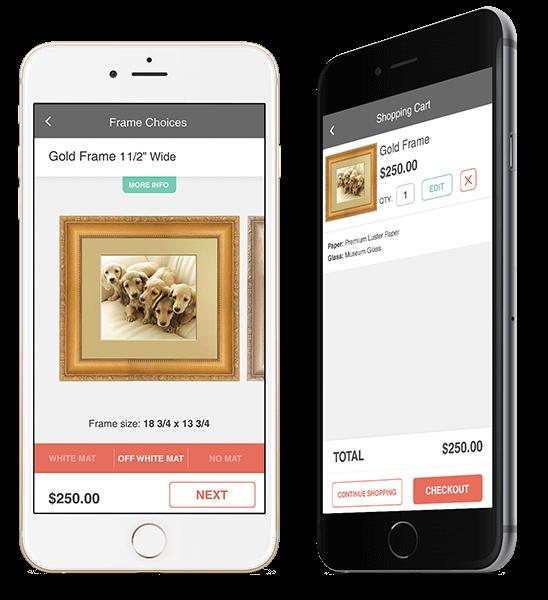 Frame online web app