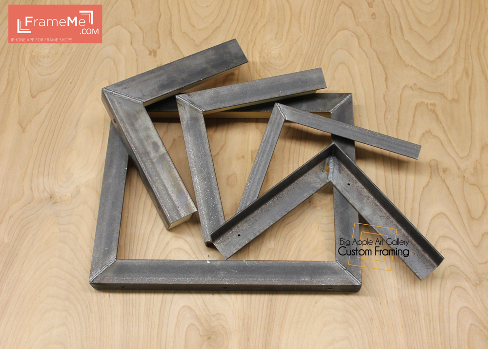 Welded Steel Frame Corner Set Framers Com