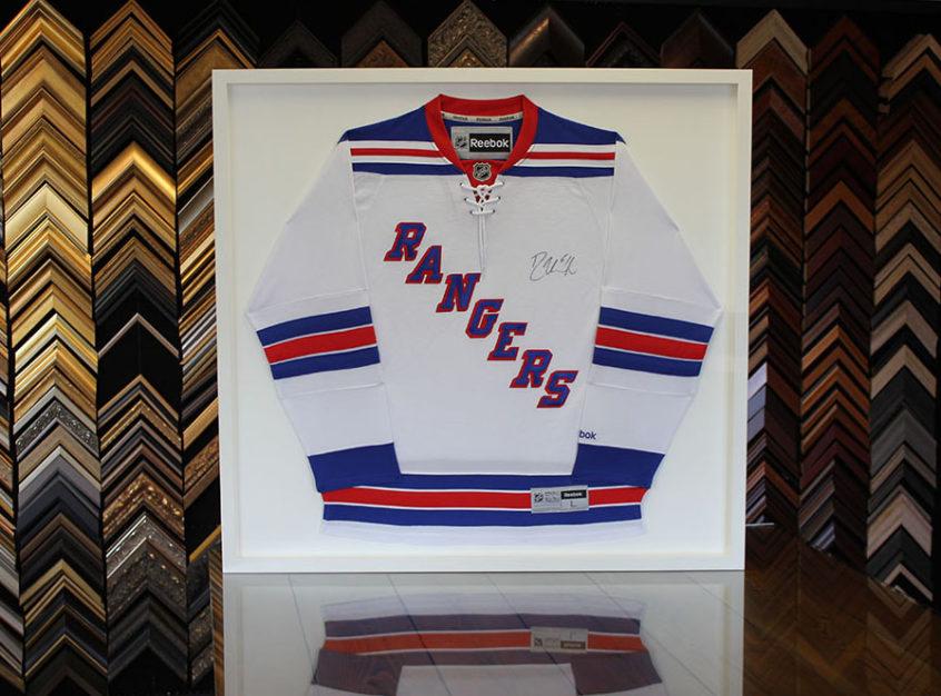 Custom Sports Jersey Framing  The Framing Nook  Hockey