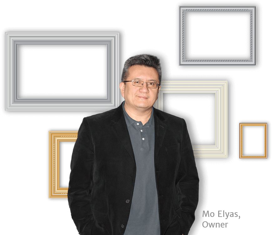 mo elyas custom framing nyc