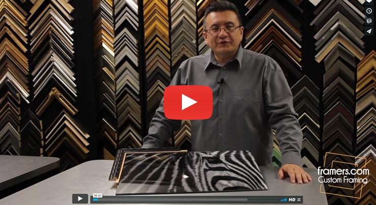 Online Custom Frames Video