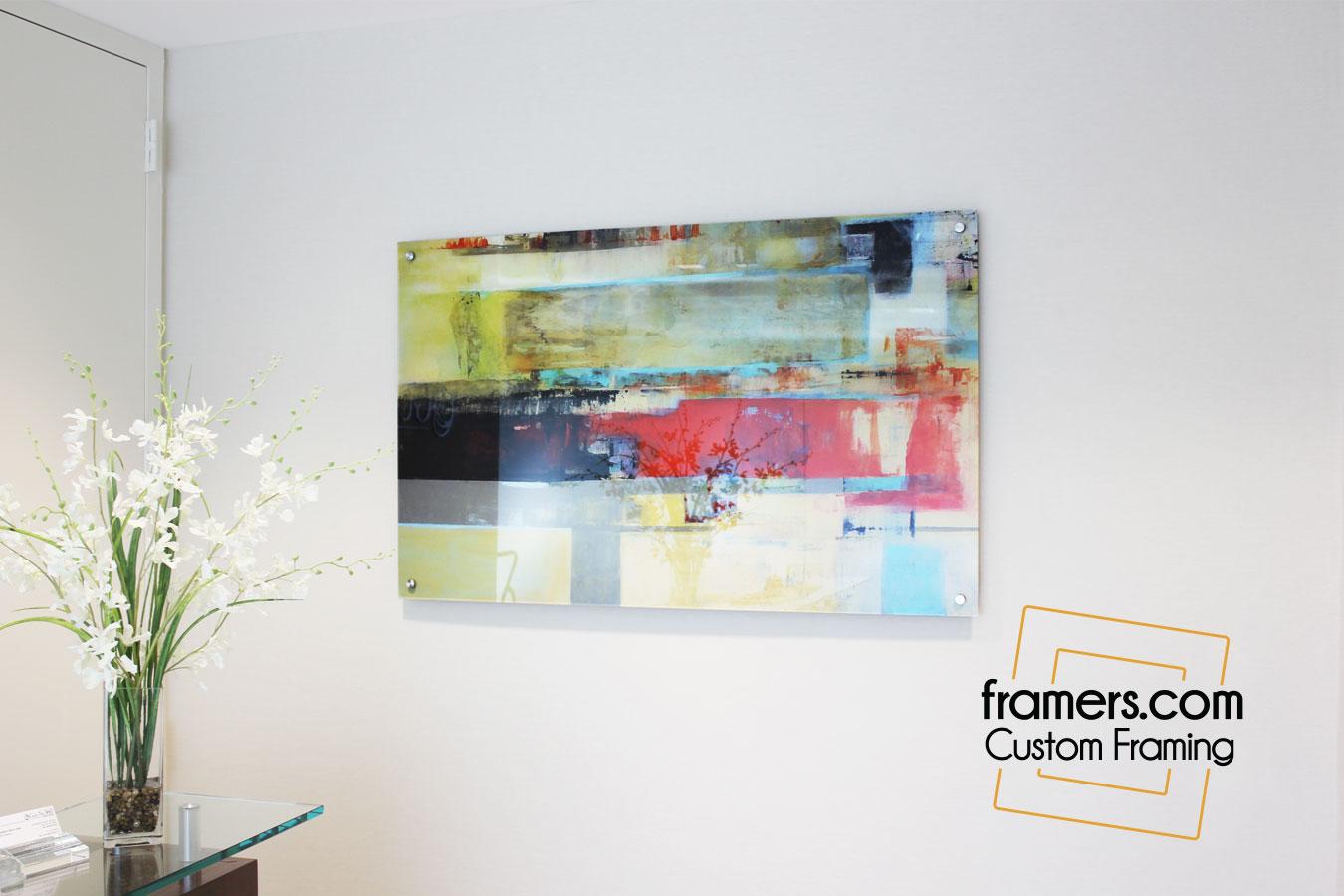 Acrylic Photo framing team
